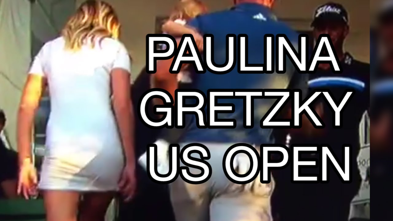 Paulina Gretzky HOT: US Open 2016 Highlights, Butt White Dress ...