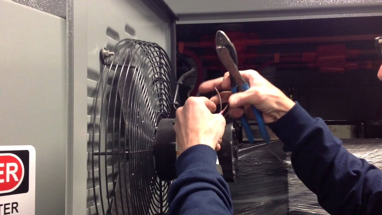Dayton Fan Motor Start Amp Run Capacitor Replacement Youtube