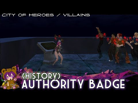 City Of Heroes/Villains - Authority Badge