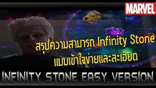 สรุปความเป็นมาและความสามารถของ Infinity Stone แบบง่ายและละเอียด! - Comic World Daily