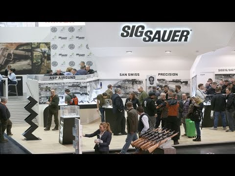 IWA 2018 – Guns and Ammo with Barnes, Sig Sauer, and Aguila: