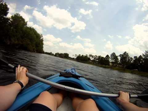 Go Pro HD YMCA /  Blanchard Park Orlando Kayaking / Canoeing.mp4