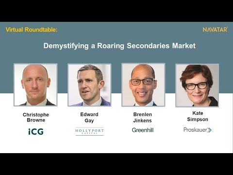 Private Equity Secondaries Market Demystified