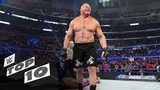 10 insanely short WWE Title Matches: WWE Top 10, Oct. 16, 2019
