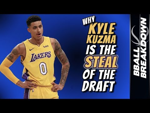 Why KYLE KUZMA Is The STEAL of the DRAFT