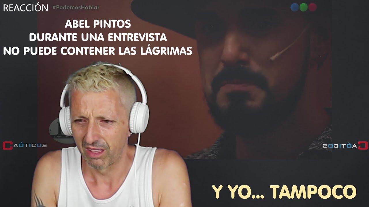 REACCIÓN / REACTION a una confesión de Abel Pintos (Español reacciona)