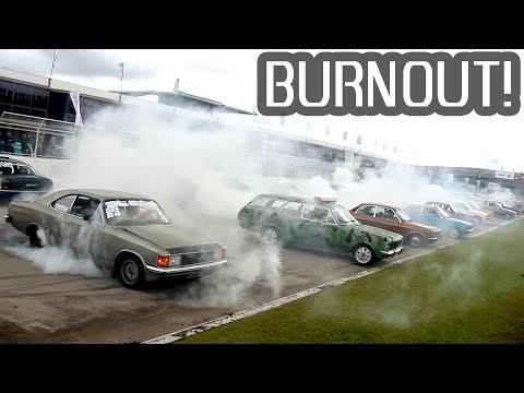 Record de BURNOUTS! - CURITIBA Motor Show Parte #02