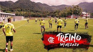Treino do Flamengo - 14/01/2020