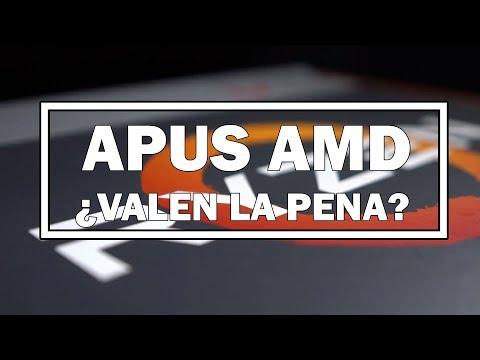 APUs AMD: ¿Valen la pena?