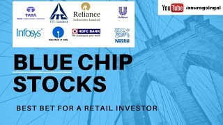 #stocks #investing Why Blue Chip Stocks Are Best For Long Term Investing?