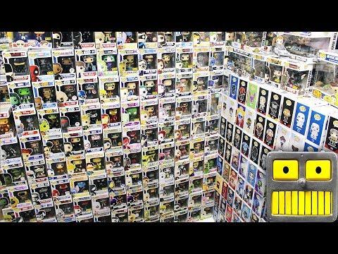 Tour Of My Funko Pop Vinyl Figures Collection Room
