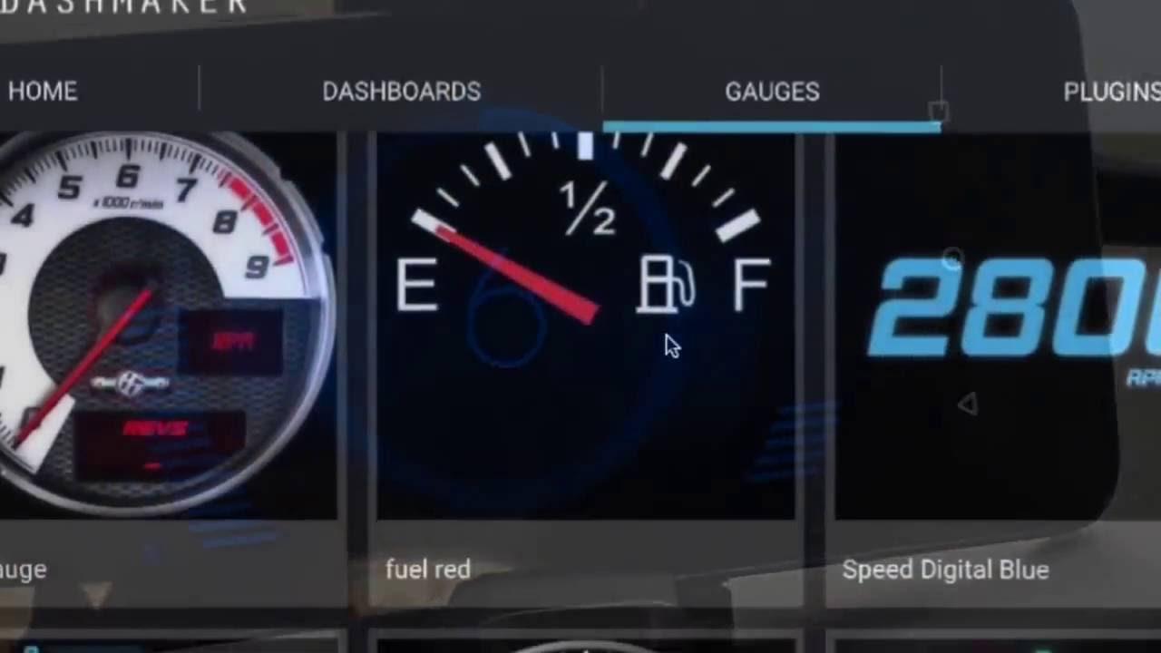 Dash Maker Obd Car Dashboards Youtube
