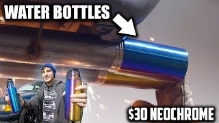 We Made Water Bottles Into Exhaust Tips! - Project DIRTE36 Ep. 3