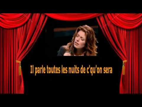 Karaoké Isabelle Boulay   En t'attendant
