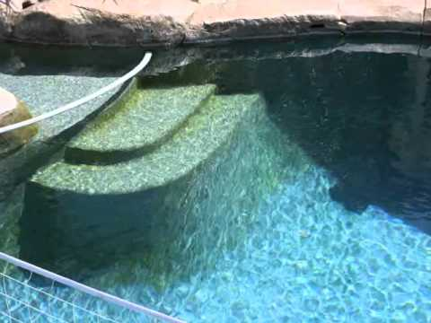how to clean pool filter youtube