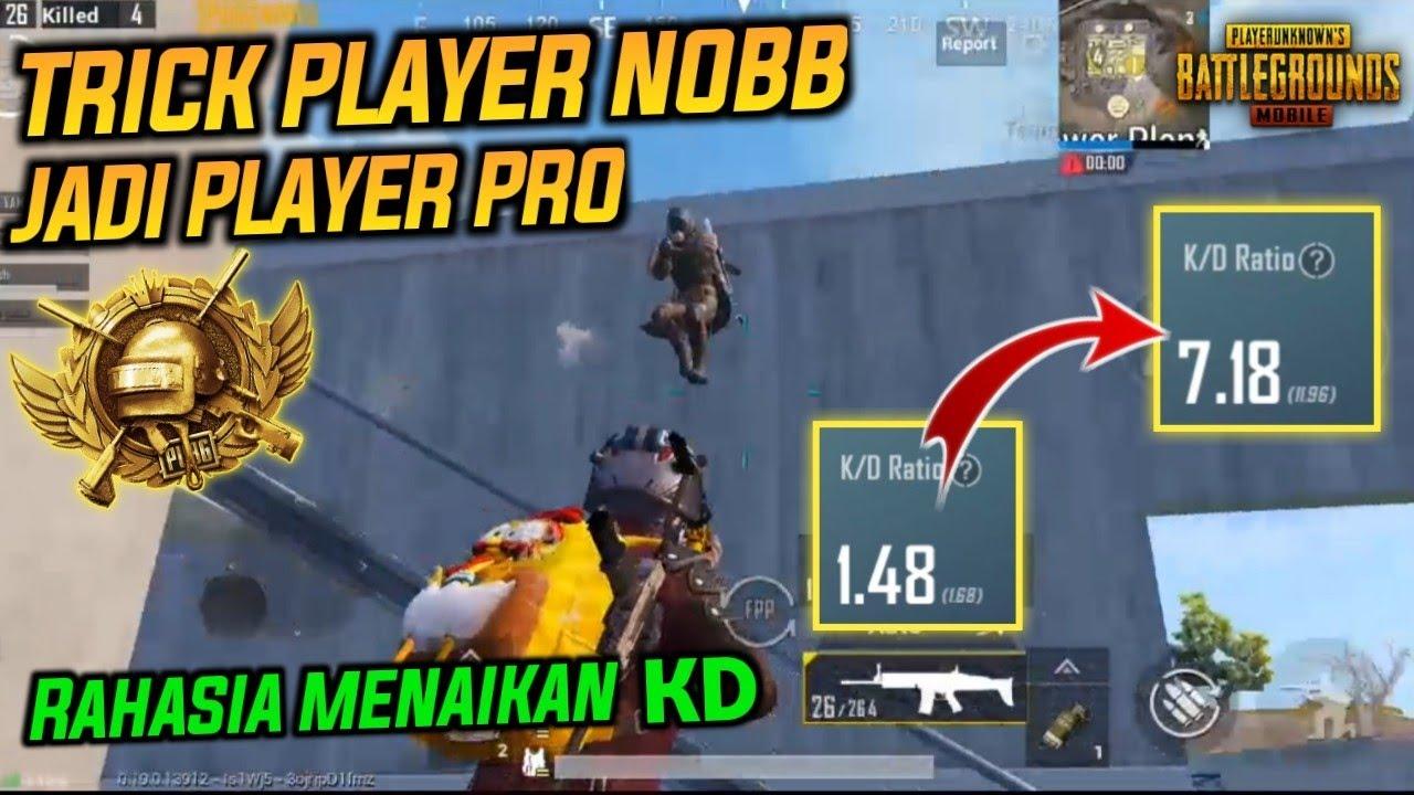 Cara Menjadi Pro Player Dari Noob Player Pubg Mobile Cara Menaikan Kd Pubg Mobile Dengan Cepat Youtube