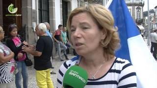 Indignados do BES manifestarm-se hoje junto ao Novo Banco em Guimarães