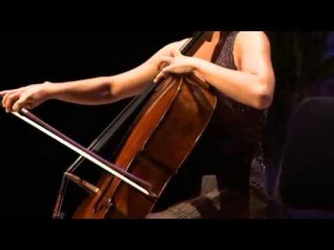 Canada Council laureate  Chloé Dominguez plays Preludio's Fantasia with 1824 Gagliano cello