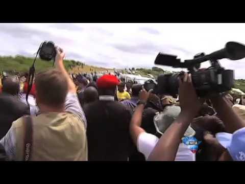 EFF and ANC clash at Nkandla