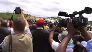 EFF and ANC clash at Nkandla