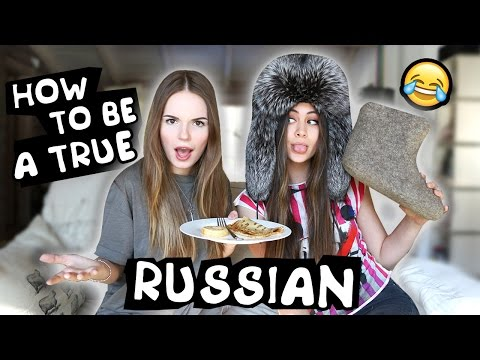 How To Become a Real Russian w Sasha Spilberg