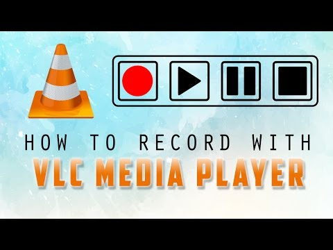 How to record with VLC media player | tutorial by TechyV