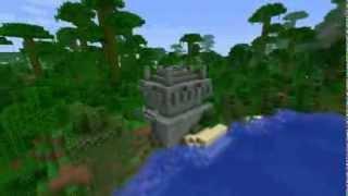 Minecraft сид - Храм в джунглях!(Minecraft seed  Майнкрафт обзор красивых сидов - Храм в джунглях! Исследуй этот прекрасный мир. Minecraft 1.4.7 Ключ:..., 2013-02-10T08:56:54.000Z)