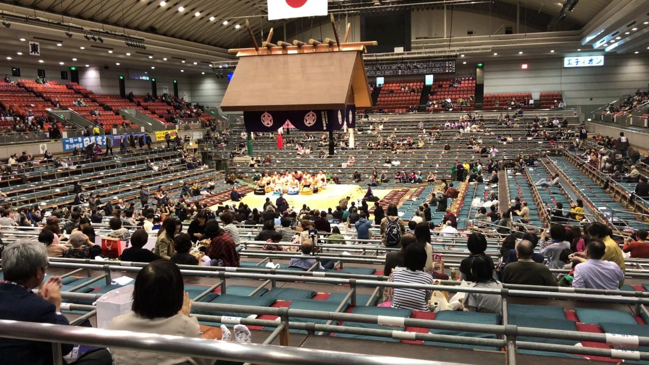 2017・3・16 大相撲大阪場所・一...