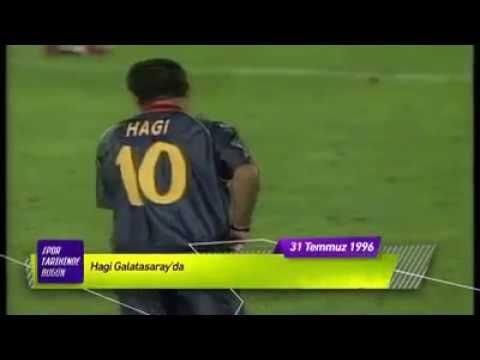 Hagi Galatasarayda Spor Tarihinde Bugun Temmuz
