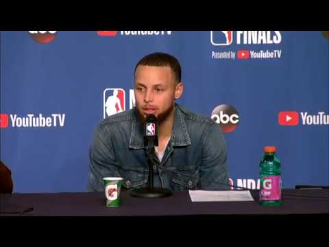 Stephen Curry & Draymond Green Postgame interview | NBA Finals Game 3