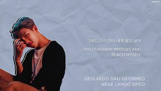 RM - 'uhgood (어긋)' [Han Rom Eng lyrics]