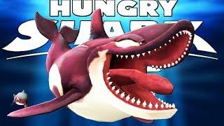 КАСАТКА ВЫХОДИТ НА ОХОТУ, ОХОТА НА АКУЛ   Hungry Shark World