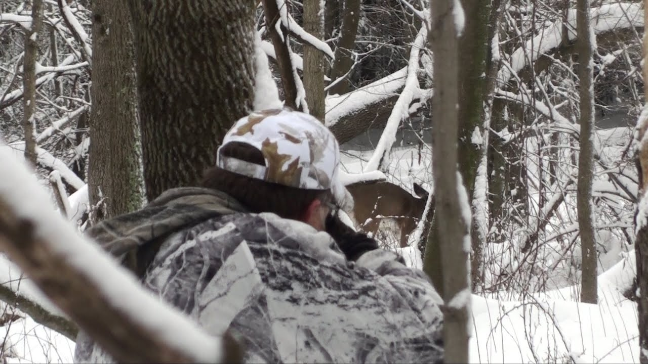 Flintlock Muzzleloader Deer Hunting -2013- Smoker - YouTube