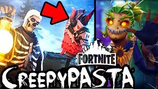 3 CreepyPasta on FORTNITE (Pt 22) doesn't PLAY on HALLOWEEN!