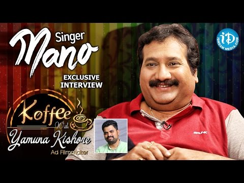 Singer Mano Exclusive Interview || Koffee With Yamuna Kishore #10