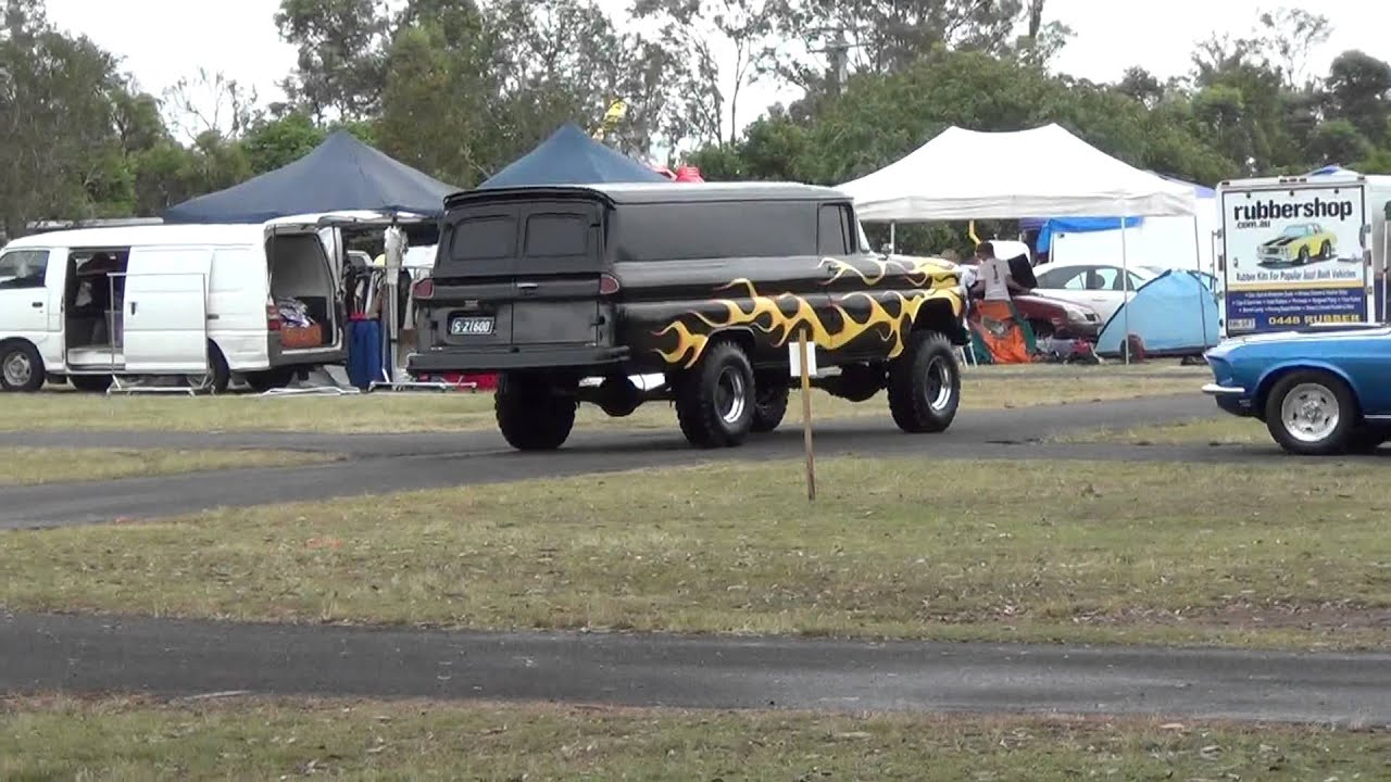 Chevy Napco For Sale >> 62' Chevy Panel Truck with NAPCO 4x4 System Drive Away - YouTube
