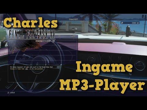 Final Fantasy XV - Ingame MP3 Player
