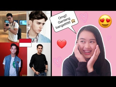 [Malaysian] Reaction To 10 Most Handsome INDONESIAN 🇮🇩 Actor || Veronica Gintod