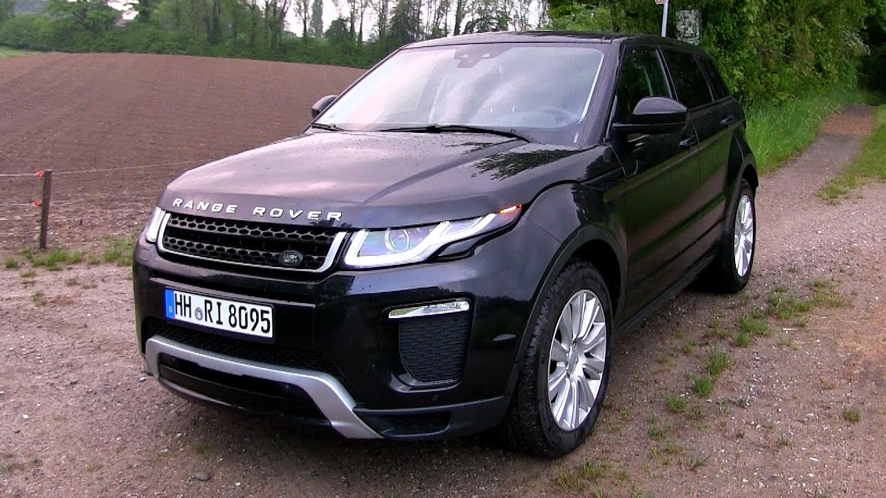 2016 range rover evoque td4 150 hp test drive by test drive freak youtube. Black Bedroom Furniture Sets. Home Design Ideas