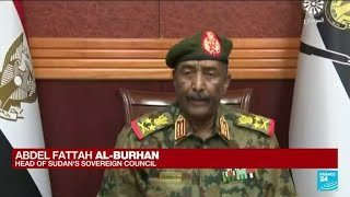 Sudan military dissolves transitional government in apparent coup • FRANCE 24 English