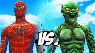 Spider-Man vs Green Goblin - Epic Superheroes Battle