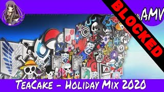 [Mesmerist] MULTI AMV | TeaCake - Holiday Mix 2020 (Hardstyle)(Various Anime in the Mix)