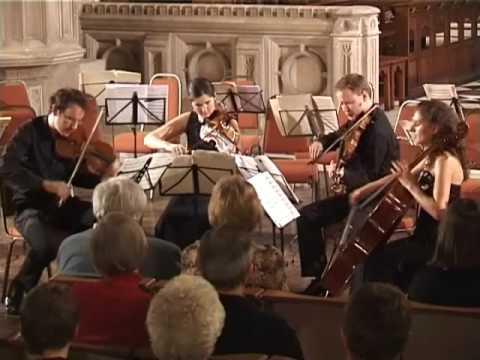 Bartok String Quartet No 4  Allegro  Carducci String Quartet