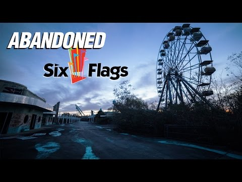 Exploring an Abandoned Theme Park: Six Flags New Orleans 🎡 Part 1