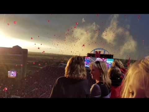 Nebraska Huskers Traditional Balloon Release 2016