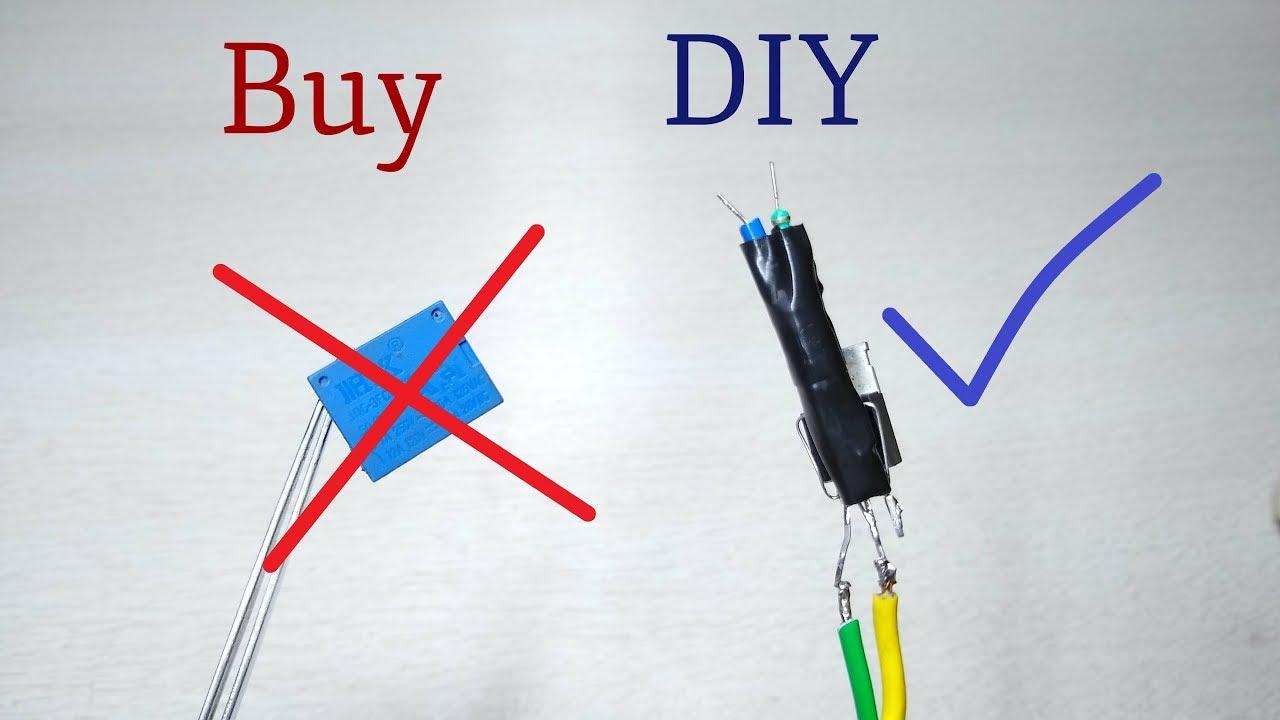 How To Make Relay 12v 9v 3v Diy Solid State Relay Youtube