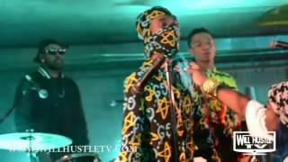 Rae Sremmurd Black Beatles ft. Gucci Mane | BTS | Will Hustle TV Exclusive