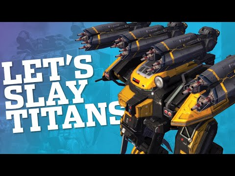 🔴 War Robots - Slaying Titans With Behemoth Thermite MK2 | WR Live Stream Gameplay