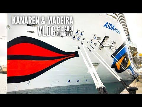 AIDA Vlog #1: Kanaren & Madeira mit AIDAnova - Wir erkunden das Schiff
