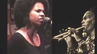"Jessica Care Moore ""Box This"" + Charlie Haden ""Golden Number"" Samplification Tribute"